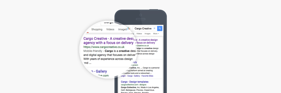 The Google mobile-friendly algorithm update   Cargo